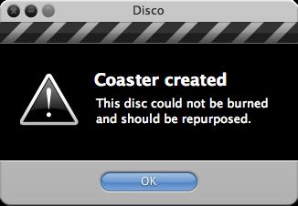 Disco - Coaster